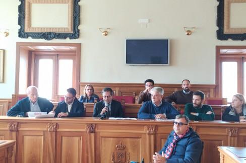 Conferenza stampa del sindaco Angarano sulla sentenza del Tar