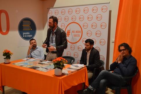 Evento elettorale con Gianni Casella