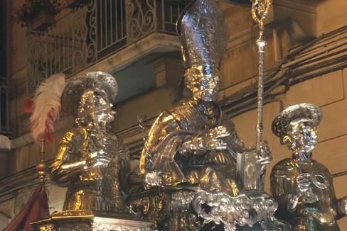 Santa Messa da Sagina nella ricorrenza del patrocinio dei Santi Martiri