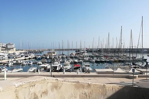 veduta del porto di Bisceglie. <span>Foto Vincenzo Cassano</span>