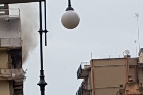 Incendio via XXIV Maggio