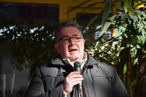 Mauro Leonardo Visaggio, dirigente scolastico dell'istituto Dell'Olio