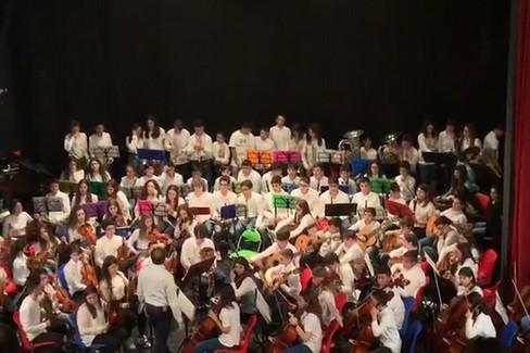 """Premio per l'orchestra della  """"Riccardo Monterisi """" a Orsogna"""