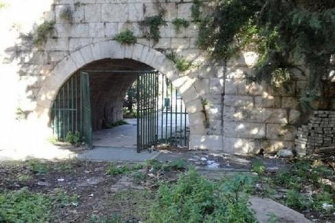 Orto schinosa all'interno del Parco Unità d'Italia