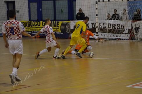 Un'azione del match. <span>Foto Fabio Pace</span>