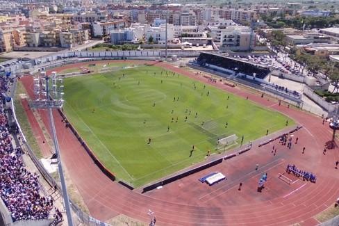 Lo stadio Gustavo Ventura