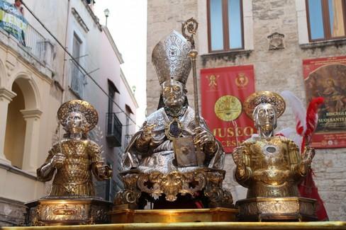 Celebrazione eucaristica dalla Pedata dei Santi