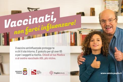 Vaccinati, non farti influenzare: lo spot con Lino Banfi