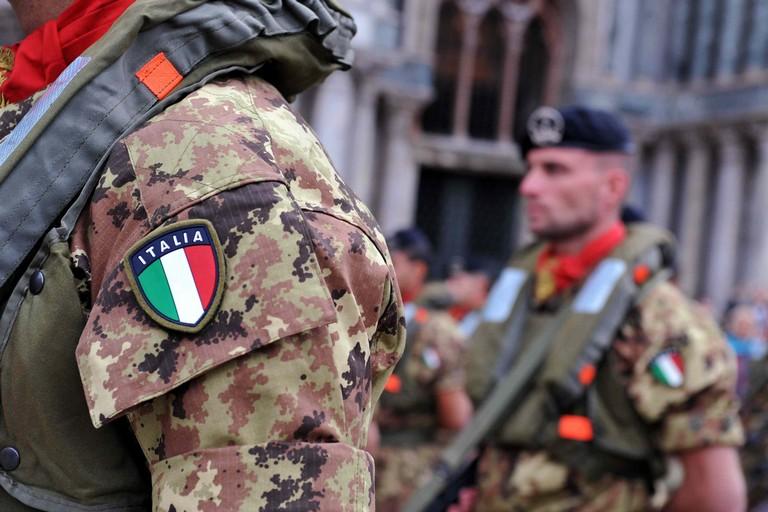 Militari (Foto Vision/Inphoto)