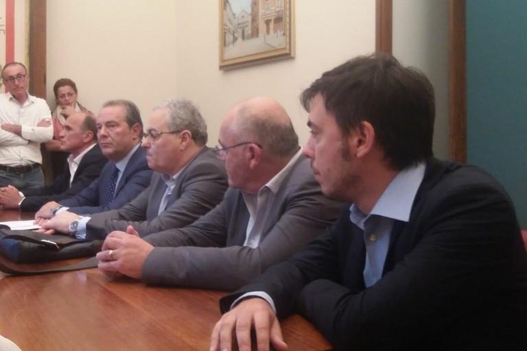 Conferenza stampa delle minoranze