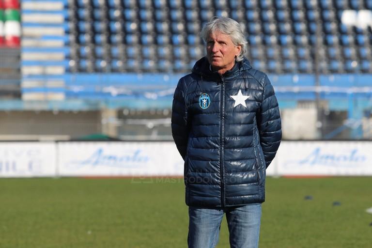 Mister Aldo Papagni. <span>Foto Emmanuele Mastrodonato</span>