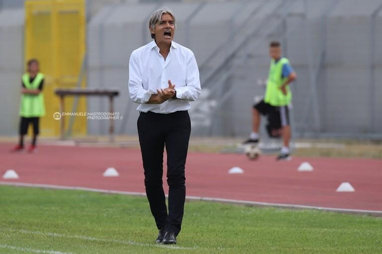 Mister Rodolfo Vanoli. <span>Foto Emmanuele Mastrodonato</span>