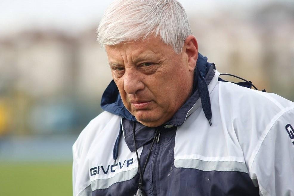 Pasquale Santosuosso, tecnico dell'Agropoli. <span>Foto Carol Violante</span>