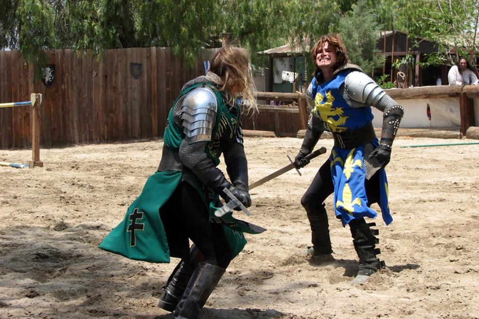 combattimento medioevale