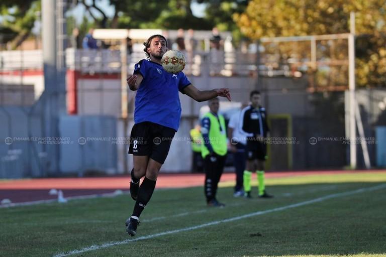 Bisceglie calcio: Musso. <span>Foto Emmanuele Mastrodonato</span>