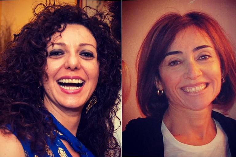 Nadia Di Liddo e Caterina Bruni