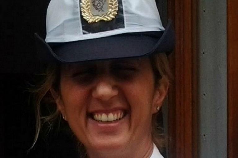 Il cordoglio dei colleghi per la scomparsa della giovane vigilessa Natalia Sinisi