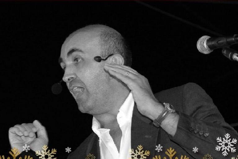 L'attore e poeta biscegliese Nicola Ambrosino