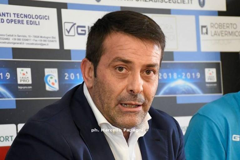 Il Bisceglie chiede un'assemblea straordinaria dei club di Lega Pro