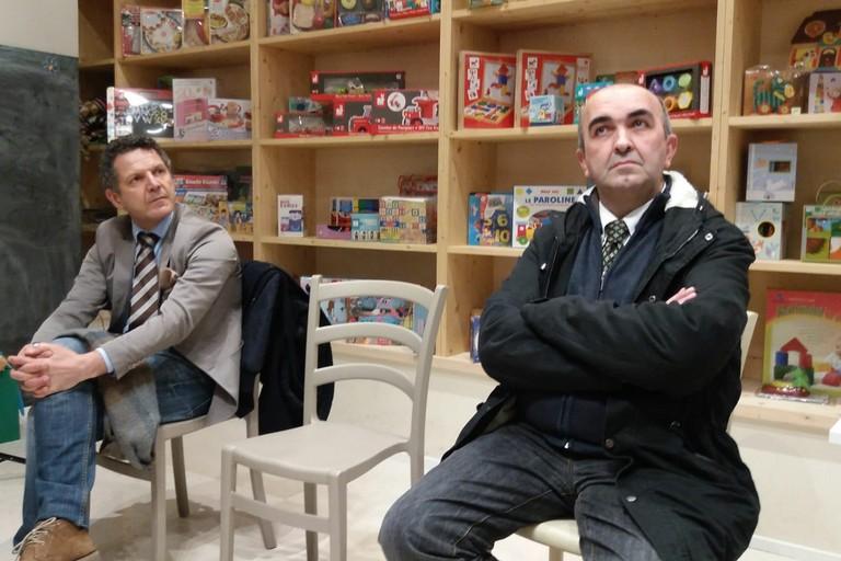 Nicola Losapio e Nicola Ambrosino