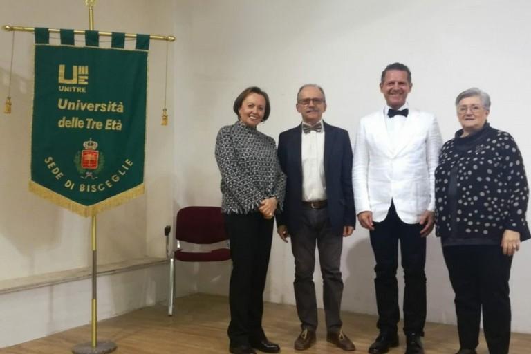 Nicola Losapio ospite dell'inaugurazione dell'Anno Accademico Unitre
