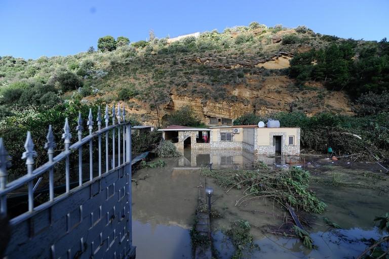 Le conseguenze del nubifragio di Casteldaccia, in Sicilia