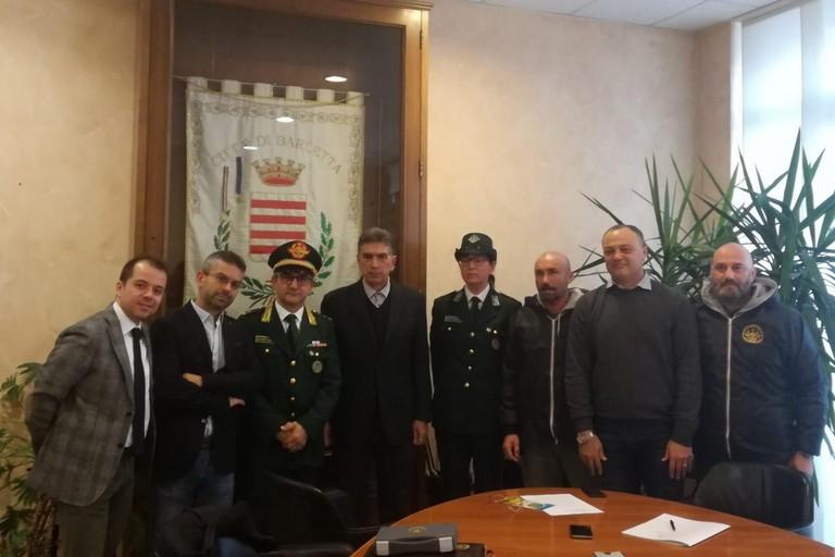 Il Nucleo Guardie Ambientali firma una convenzione per la vigilanza zoofila a Barletta