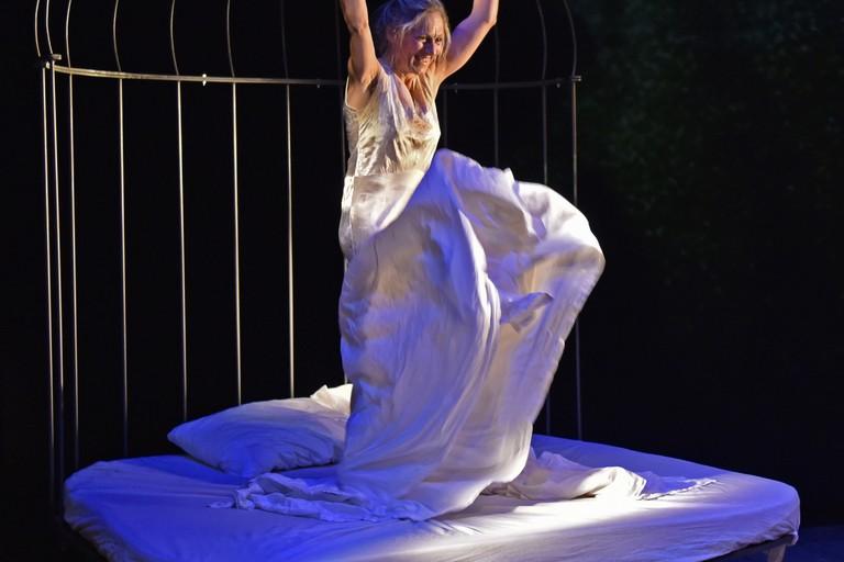 L'attrice biscegliese Nunzia Antonino. <span>Foto Maurizio Agostinetto</span>