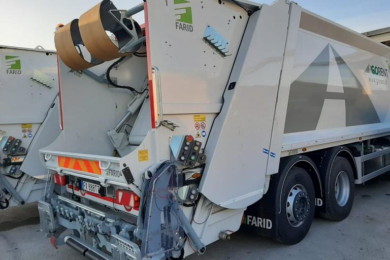 Mezzo per la raccolta dei rifiuti