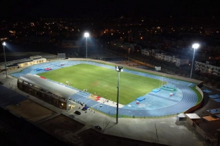 Il nuovo stadio di atletica a Molfetta