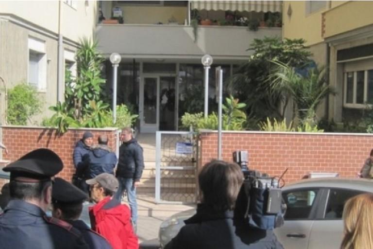 Lo stabile in cui fu assassinata Giuseppina Mojo. <span>Foto BisceglieViva</span>