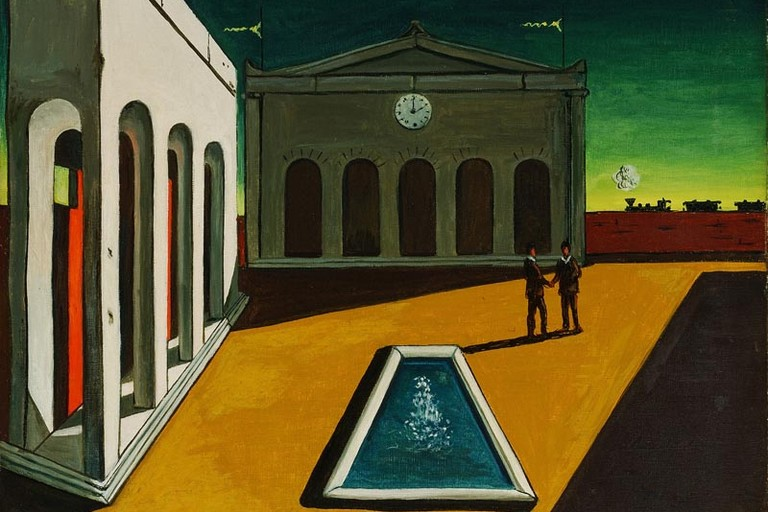 Orologio di Giorgio De Chirico