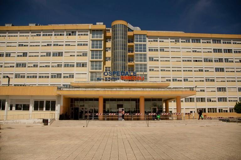 L'ospedale Dimiccoli di Barletta