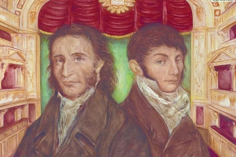 Nicolò Paganini e Mauro Giuliani