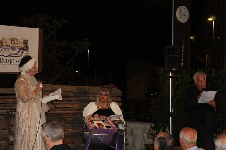 Antonella Pagano, Pina Catino e Zaccaria Gallo durante la conversazione