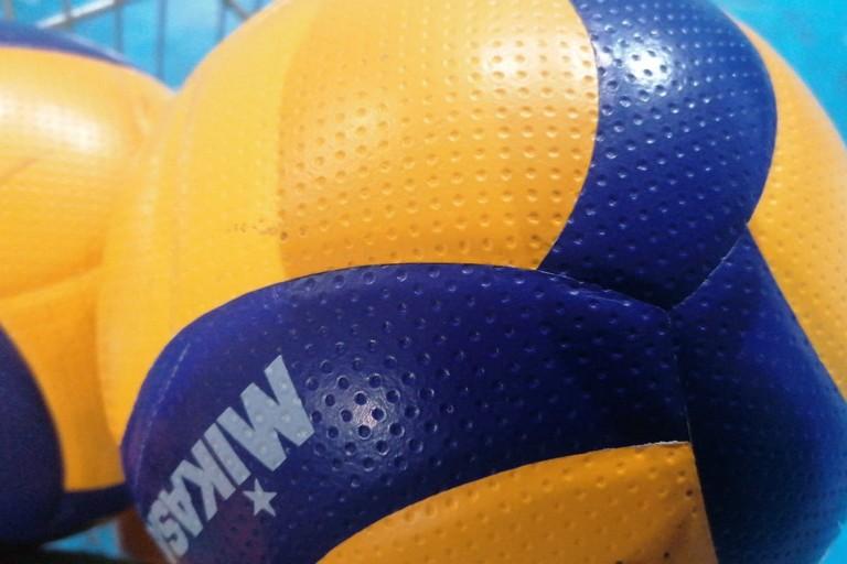 Pallone volley. <span>Foto Vito Troilo</span>