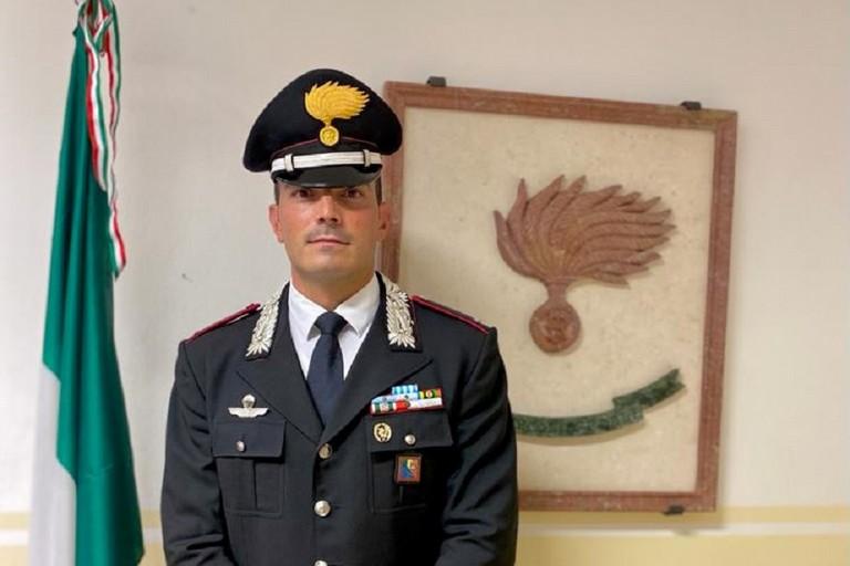 Paolo Petruccelli, comandante della Tenenza dei Carabinieri di Bisceglie