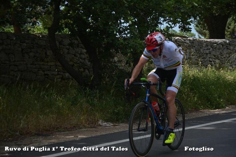 Davide Stasi della scuola di ciclismo