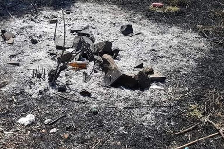 Le conseguenze dell'incendio di sabato sera al parco Don Milani