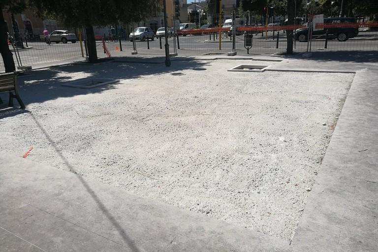 pavimentazione Piazza Vittorio Emanuele II