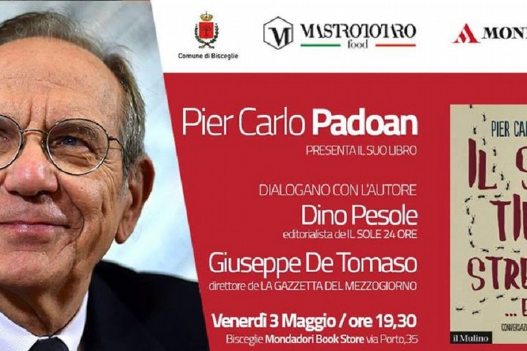 Pier Carlo Padoan presenta il libro