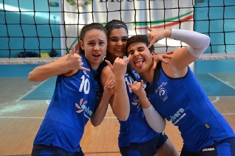 Da sinistra Rebecca Lopopolo, Piera Losciale e Valentina Galasso