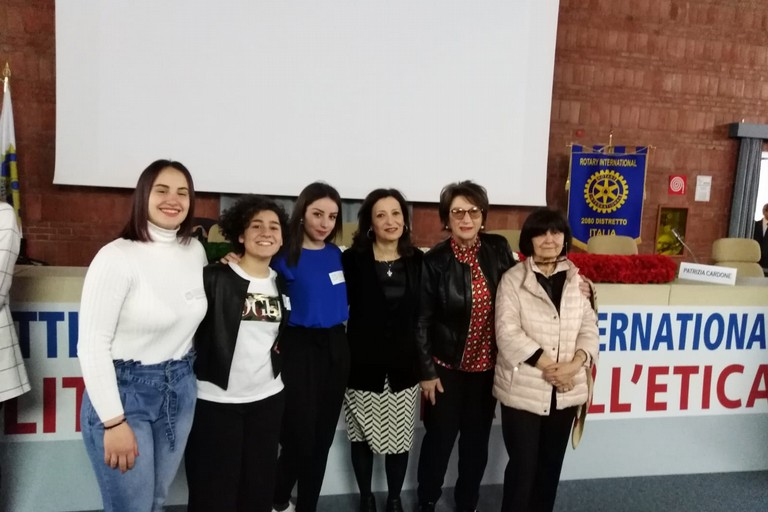 Alessia Caggianelli, Aurora Marinelli e Dalila Troilo premiate a Roma