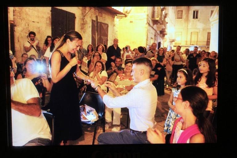 Proposta di matrimonio a Libri nel Borgo Antico