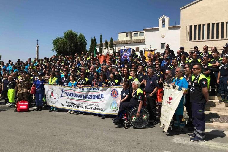 Raduno regionale della Protezione Civile a San Giovanni Rotondo