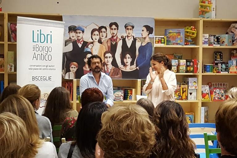 Raffaello Mastrolonardo ha presentato il suo ultimo libro presso