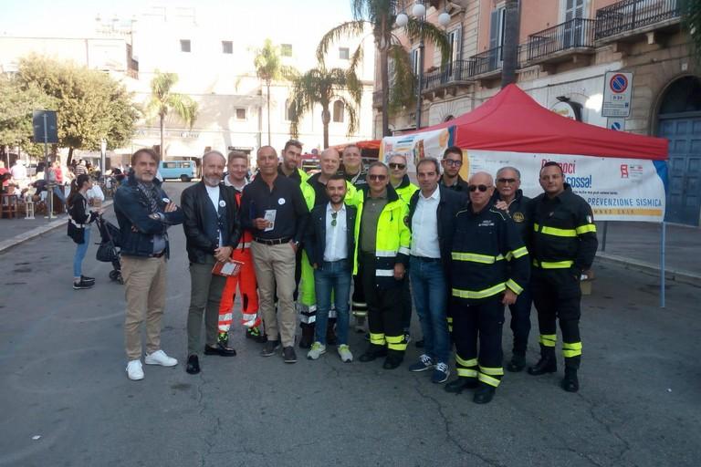 Rappresentanti di alcuni enti coinvolti nell'unità di crisi del Centro operativo comunale