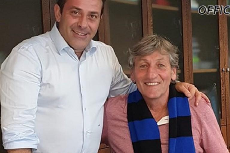 Renzo Ferrante con Nicola Canonico