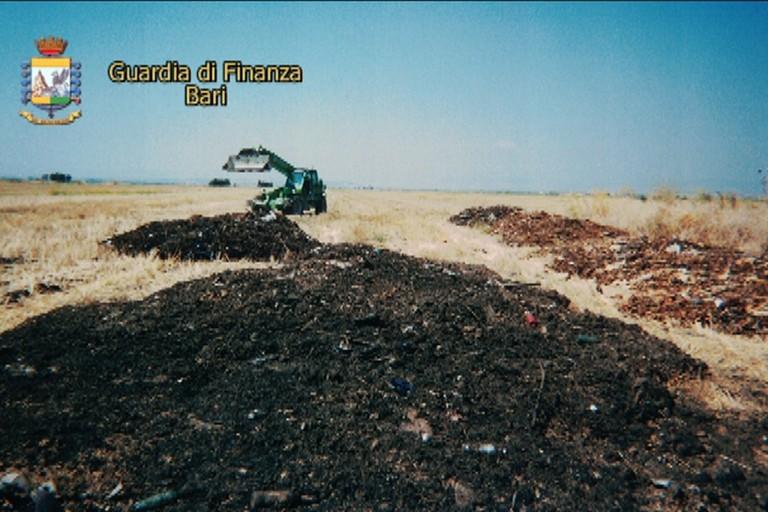 Traffico di rifiuti nel territorio foggiano
