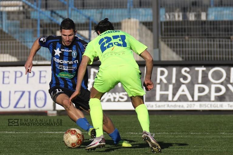 Daniele Rocco in azione. <span>Foto Emmanuele Mastrodonato</span>